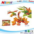 EVA building blocks compliance with international safety standards 2017 new items (SCORPION & INSECT).24PCS