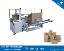 Corrugated Paper Box Folding Gluing Machines Cardboard Folder Gluer