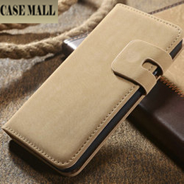 CaseMall Retro leather design suede case for iphone 6, case for iphone 6