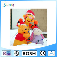 Sunway New Outdoor Decoration Airblown Christmas Inflatable Dog