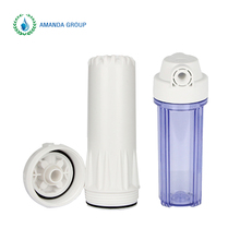 Domestic 10 inch white food grade filter cartridge housing in water filters