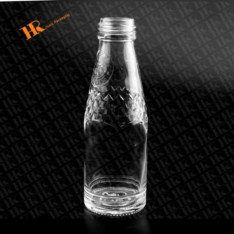 125ml Water Bottle Drinking Bottle Empty Glass Bottle liquid container