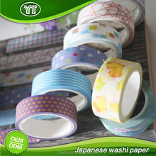 Floral flower natural scenery washi paper tape for decoration