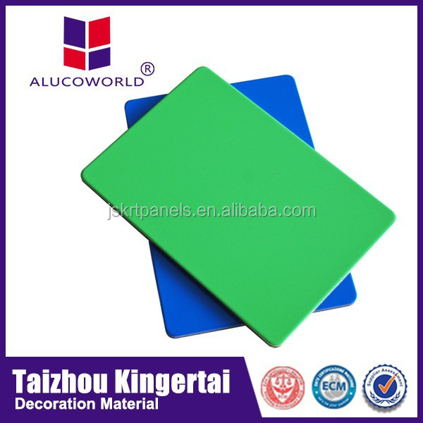 Alucoworld Popular hot sale color place paint color chart outdoor exterior aluminium facade wall cladding acp sheet