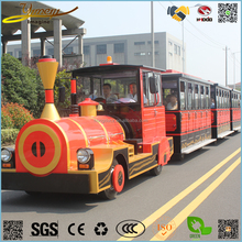 Wholesale vehicle 62 seats electric sightseeing train green power bus park car