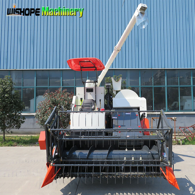 Factory Wholesale Agricultural Uses of Rice Reaping Combine Harvester Machinery