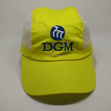 high quality heat transfer embroidery mesh cap
