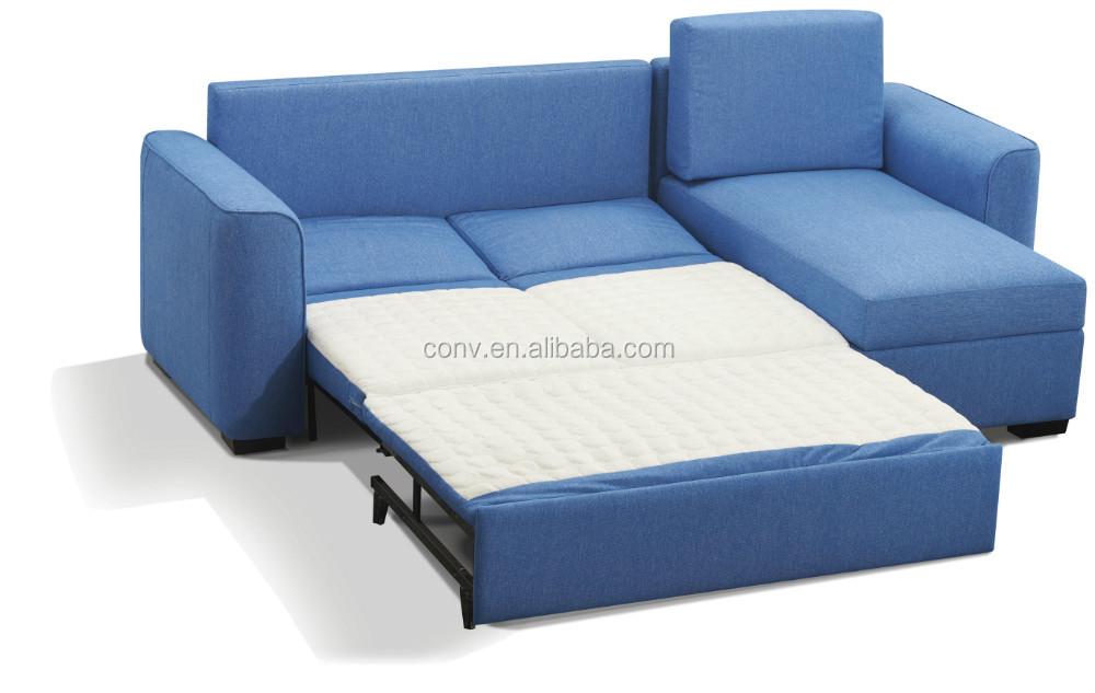 Tela sof cama esquina con stroage sof s para la sala de - Sofa cama esquina ...