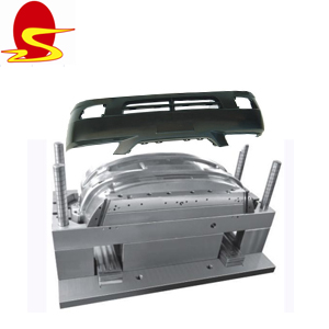 Automobile Car Tail / Rear Bumper In Plastic Injection Moulds Spare Parts In Car