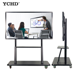multi touch screen interactive white board educational equipment for schools