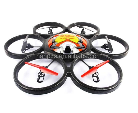 2.4G 4CH rc drone 6 blade uav professional with high quality