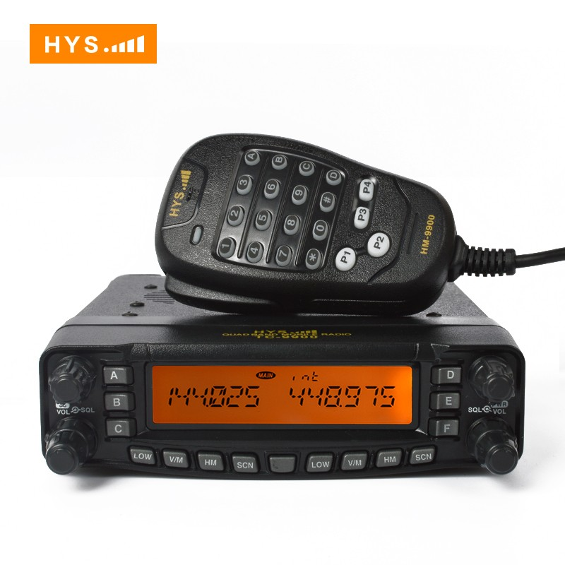 DTMF Function Multi Band Mobile Radio Receivers TC-8900R
