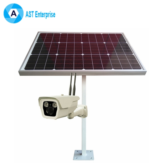 4G Wireless Security Camera With Sim Card Slot Solar Power Panel IP Camera Security Home Camera System Outdoor