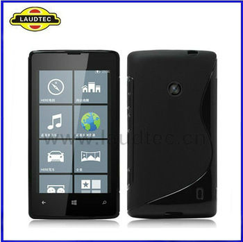 Hot Selling S Line Tpu Soft Back Case for Nokia Lumia 520 New Product