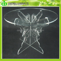DDC-0010 Hot Sales!!! Glass Cake Stand Wedding, Cheap Wedding Cake Stand Crystal