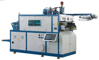 disposable cup forming machine/ water cup making machine /one time use plastic cup thermoforming machine