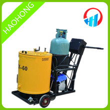 Asphalt road crack sealing machine with 60L hot melt kettle