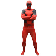 Newest hot sale lycra spandex zentai deadpool costume carnival fancy dress cosplay costumes BMG14700