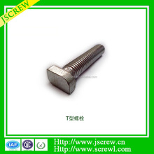 Stainless steel M6 hammer head bolt, T bolt