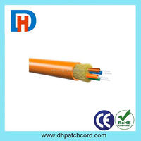 Good Quality 12 cores single mode Outdoor G652D FRP Strength GYTA Armored Fiber Optic Cable Meter Price