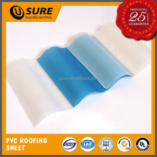 agricultural greenhouse pvc clear translucent waterproofing roof