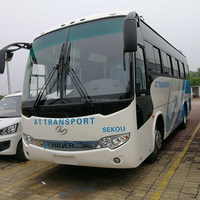 Higer KING LONG New 8m Mini Coach Bus with High Quality