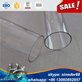 OEM size rounded polycarbonate pipes for decoration