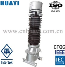 132kv instrument transformer oil imersed current transformer outdoor