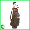 Custom Leather Golf Carry Bag