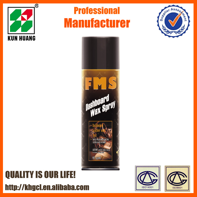 FMS car shine silicone dashboard spray wax