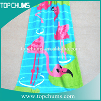 Cotton Terry Velour usa frozen beach towel,wholesale baby beach towels