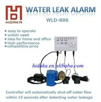 Hidaka Stop Leak DC12V Water Leak Detection with Auto Off Valve with Alarm System with Sensor