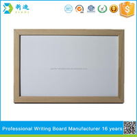 wood frame white board