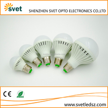 Cheap and good quality cool white and warm white plastic led light bulb