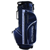 Polyester 6 Way Divider Carry Organizer Pockets Blue Men's Golf Stand Bag