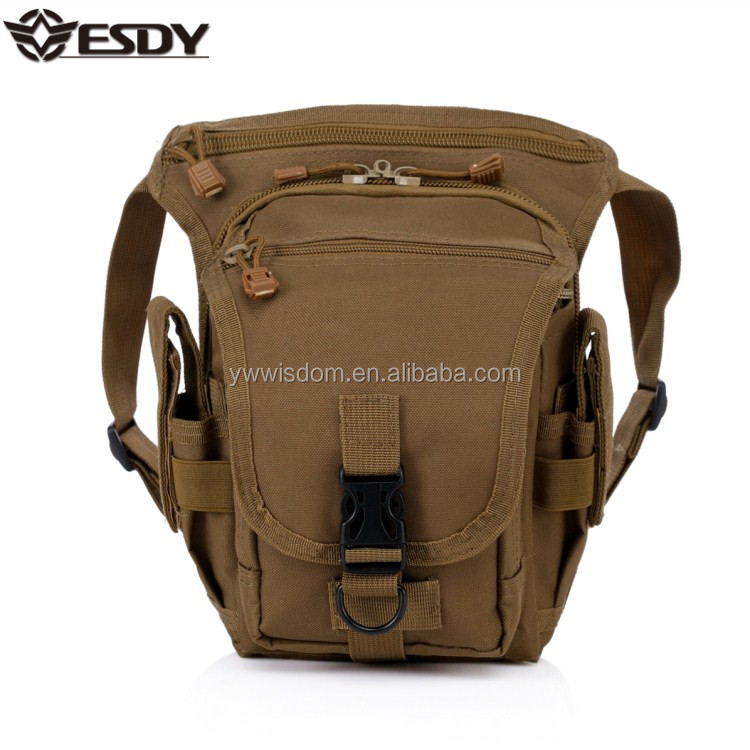 ESDY 7 Color Outdoor Hiking Travel Camping Tactical Military Leg Bag