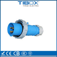 TIBOX 3P+E+N Promotional IP67 electric supplier waterproof industrial plug