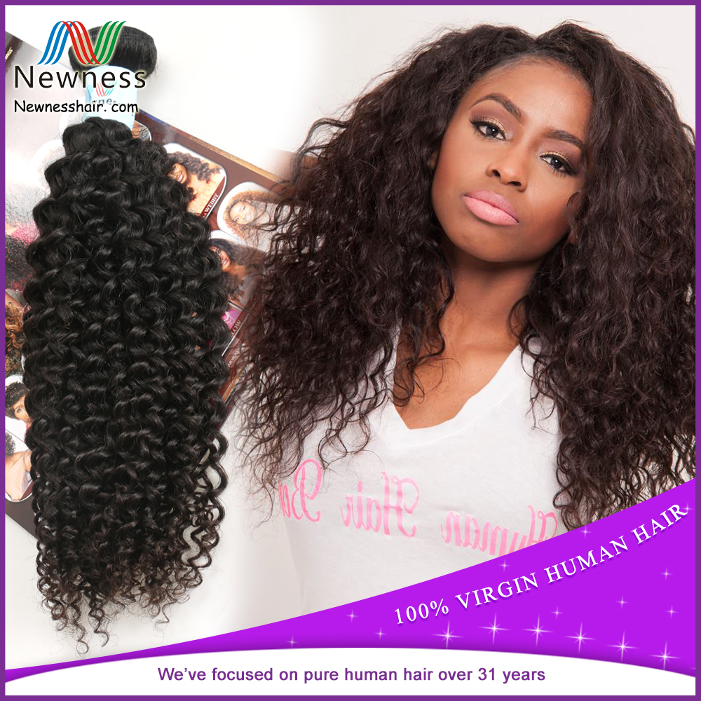 Free sample factory direct sale high quality different types of curly weave hair