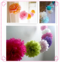 party Tassel Garland paper circle garland pom dot party decor banner ,Party Decorations for wedding, Birthday Party
