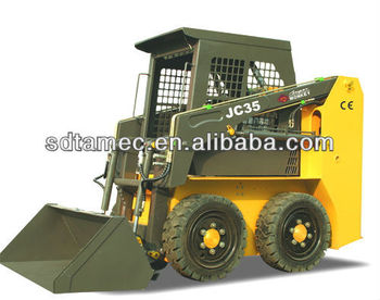 JC35 skid loader,china bobcat,engine power 35hp,loading capacity 500kg
