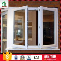 Hot sales PVC bay window lowes