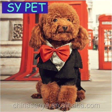 Dog Wedding Suit /Swallowtail / Evening dress new style good quality dog clothes