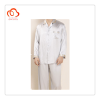 100% pure silk nightgown clothings for men
