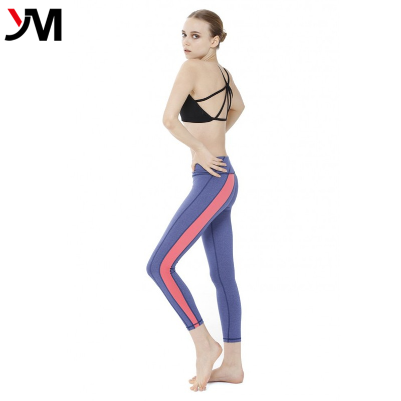 2016 durable sports wear women sexy design yoga pants wholesale top quality yoga clothing