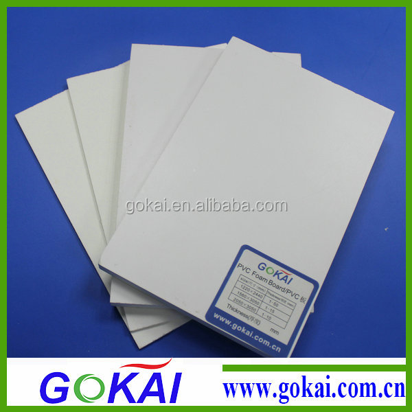 High rigidity foam filled pvc board with CE