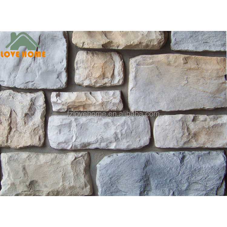 Hand Coloring Elevation Wall Tile Artificial Culture Stone for Wall Decoration