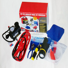 18 pcs Car Accessories Of Road Safety Kit Auto Repair Roadside Emergency Kit