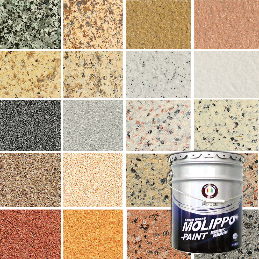 Various Colors Texture Paint for Exterior Wall