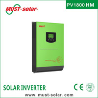 < Must Solar> PV1800 HM series high frequency 2000w solar inverter with mppt solar charge controller inside