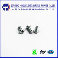 zinc carbon steel cross pan head mini m1.6 machine screws